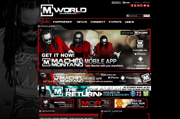 MWorld - Machel Montano